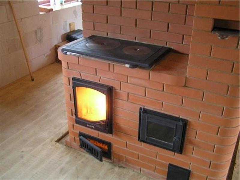 Каменная печь для дома своими руками