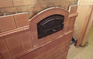 Обложить печь кафельной плиткой