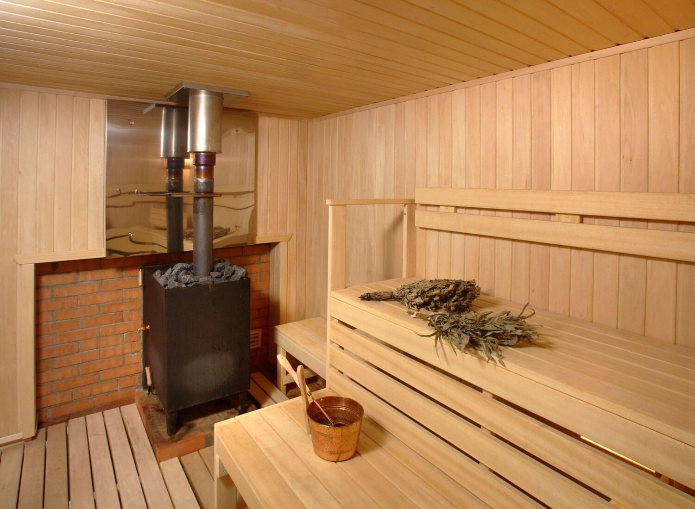 Котел на дровах для сауны