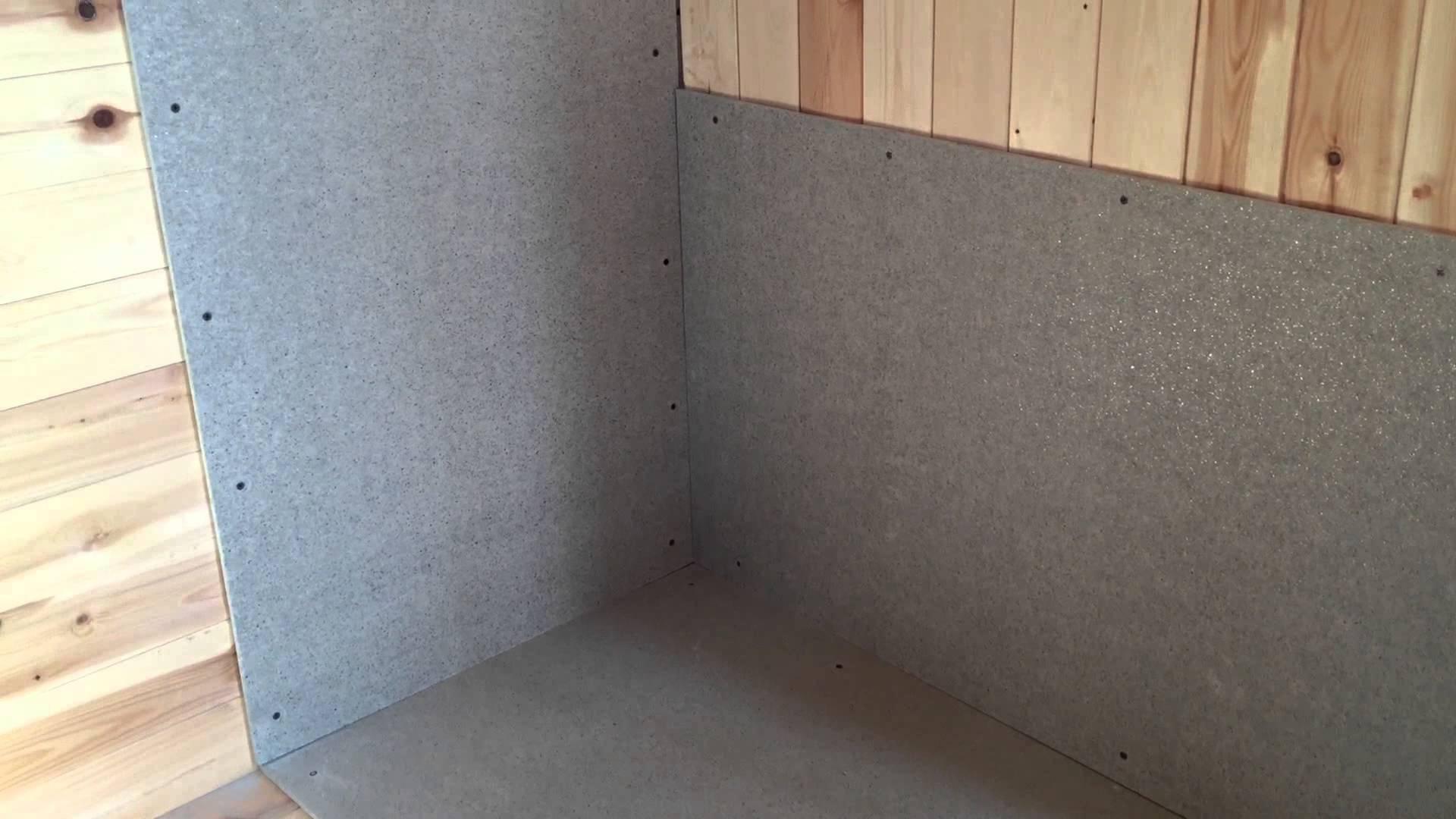 Огнеупорный изоляционный материал для стен
