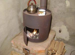 Готовая печь или самодельная