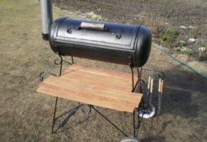 Как сделать барбекю из газового баллона своими руками?