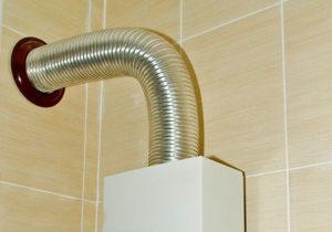 Как сделать дымоход для газовой колонки в частном доме самому?