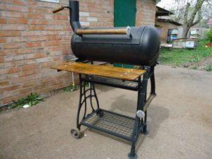 Как сделать барбекю из газового баллона