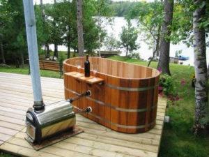 дровяной водонагреватель
