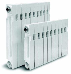 Варианты мощности радиаторов отопления