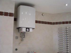 Как можно включить бойлер, когда он уже установлен в ванной комнате?