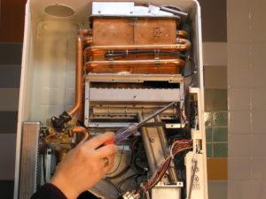 Порядок работы при замене газовой колонки