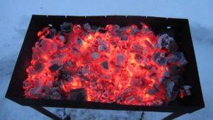 Сухой спирт для угля в мангале
