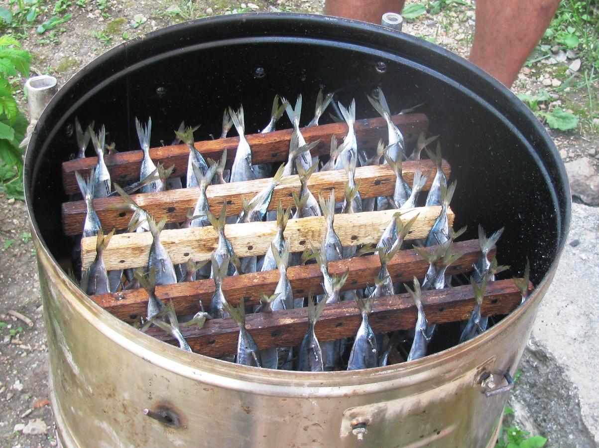 Копчение - горячее копчение мяса в 70