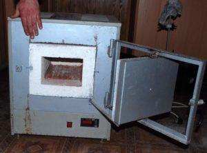 Как строится муфельная печь своими руками?