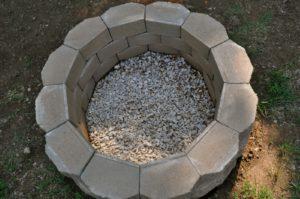 Оптимальная величина мангала из камня