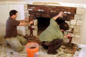 Пошаговая инструкция по кладке камина своими руками