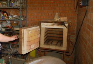 Изготовление горизонтальной электрической муфельной печи