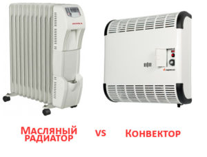 Что лучше выбрать: масляный обогреватель или конвектор?