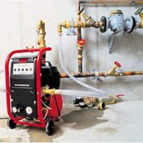 Как осуществляется промывка и опрессовка системы отопления разными способами