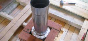 Чем лучше изолировать металлическую трубу дымохода
