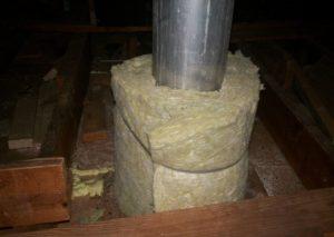 изолировать металлическую трубу