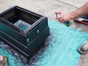 Чем покрасить мангал, чтобы он не обгорал и не ржавел