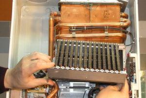 Как делается промывка теплообменника газового котла своими руками