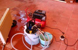 промывка и опрессовка системы отопления разными способами