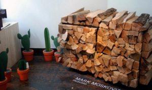поленницу для дров