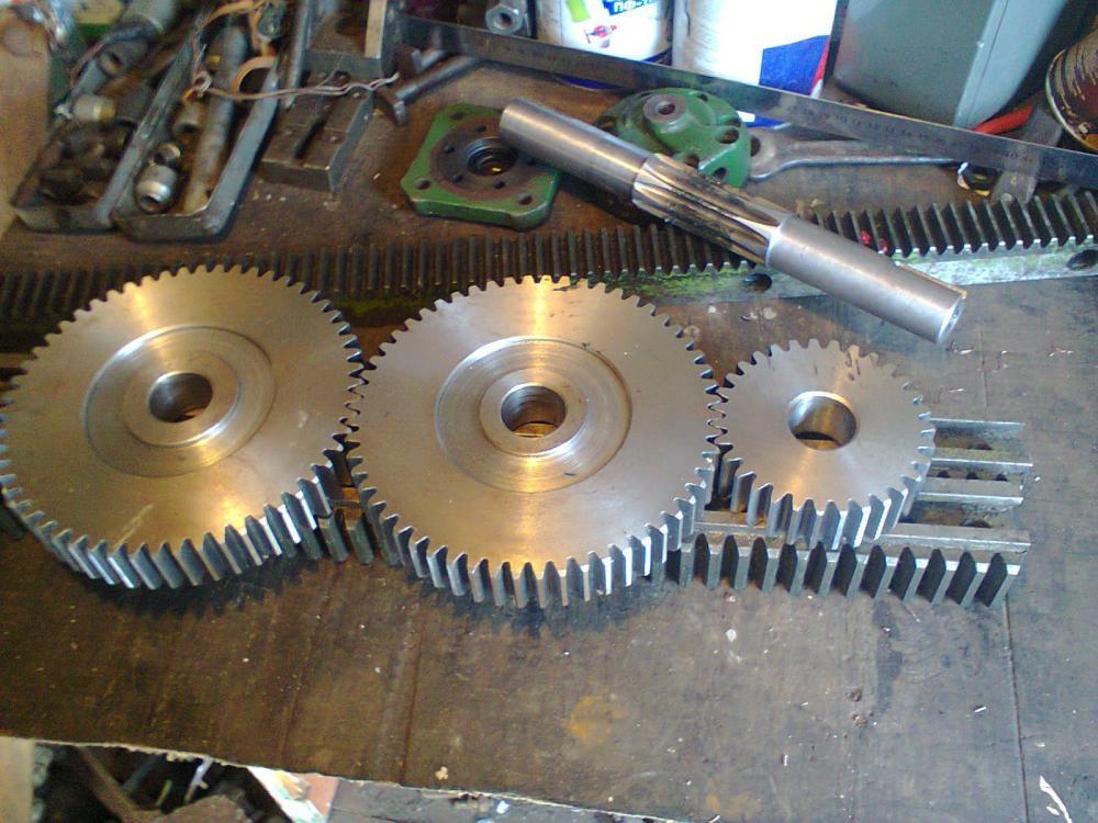 Как сделать рейку для дровокола 765
