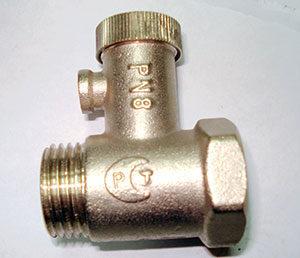установить предохранительный клапан для водонагревателя