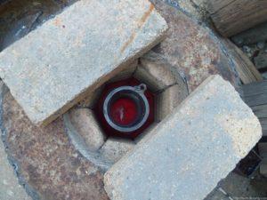 Печь из колесного диска