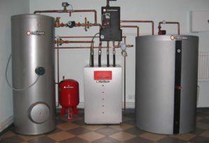 Пошаговая установка напольного газового котла в частном доме