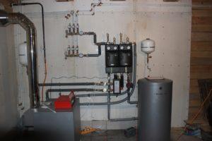 Пошаговая установка напольного газового котла