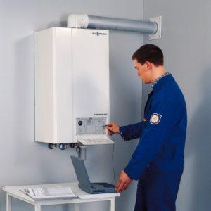Пошаговая установка настенного газового котла в частном доме
