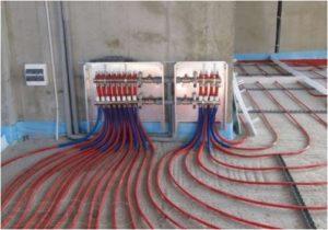 Подключение теплого пола к системе отопления