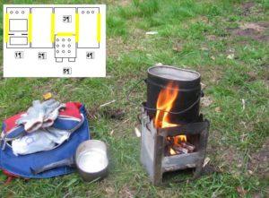 Как сделать печку для палатки своими руками?