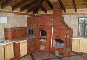 Как сделать печное отопление с водяным контуром в деревянном доме?