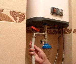 Использование водонагревателя на даче