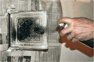 термостойкую краску для металлической печи