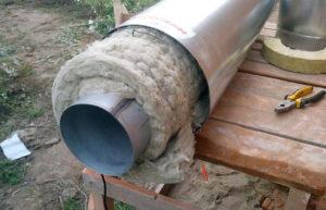 Как сделать дымоход из стальных труб своими руками